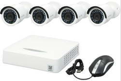 LaView 8-Ch. 4-Camera DVR Surveillance System