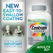Centrum® Silver® Adults 50+, 285 Tablets