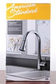 American Standard Sapelo 1 Handle Pull Down High Arc Kitchen Faucet STAINLESS