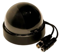 400 TVL CCD Dome Shaped Indoor Surveillance Camera