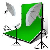 Loadstone Studio Photo Video Studio 10'x12' Double Muslin x3