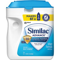 Similac Advance EarlyShield Infant Formula 34 oz - (965g)