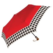 ShedRain Red Polka Dot Single Pack Umbrella