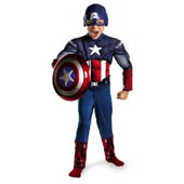 Marvel Captain America Avengers Classic Muscle Licensed Child Halloween Costume